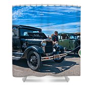 Model T Fords Shower Curtain