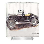 Model T.  Shower Curtain