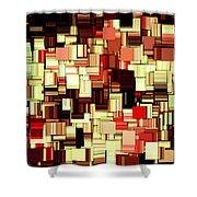Modern Abstract Art Xvii Shower Curtain