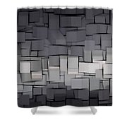 Modern Abstract Art Xx Shower Curtain
