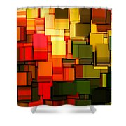 Modern Abstract I Shower Curtain by Lourry Legarde
