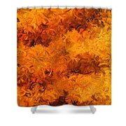 Modern Abstract Xxviii Shower Curtain