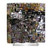 Modern Abstract Xxxii Shower Curtain