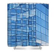 Modern Architecture Abstract Shower Curtain