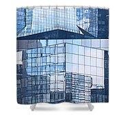 Modern Architecture Detail Shower Curtain