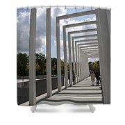 Modern Archway - Schwerin Garden -  Germany Shower Curtain