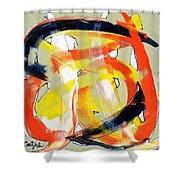 Modern Art Eighteen Shower Curtain
