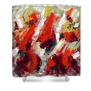 Modern Art Thirty-two Shower Curtain