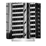 Modern Buildings Abstract Architecture Shower Curtain