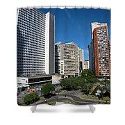 Modern Buildings In Central Rio De Shower Curtain