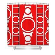 Modern Design II Shower Curtain
