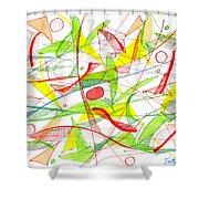 Modern Drawing Seventy-three Shower Curtain