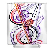 Modern Drawing Sixty-two Shower Curtain