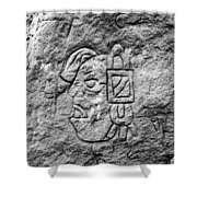 Modern Hieroglyphics Vii Shower Curtain