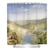 Modern Italy - The Pifferari, 1838 Shower Curtain