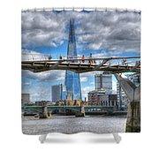 Modern London Shower Curtain
