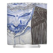 Modern Passion Shower Curtain by Robie Benve