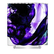 Modern Purple  Shower Curtain