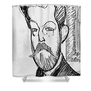 Modigliani - Paul Alexander Shower Curtain