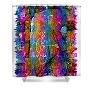 Mogollon Blanket Of Legends Shower Curtain