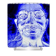 Mohandas Gandhi Shower Curtain