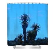 Mohave Blue Shower Curtain