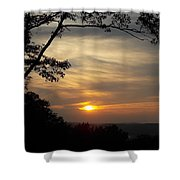 Mohawk Sunset Shower Curtain