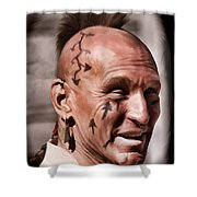 Mohican Shower Curtain