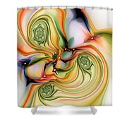 Moirai Shower Curtain