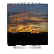 Mojave Desert Sunrise Shower Curtain