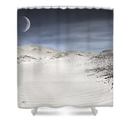 Mojave In Pale Shower Curtain