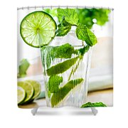 Mojito Shower Curtain