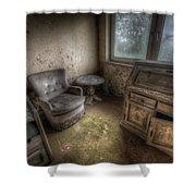 Mold Corner Shower Curtain
