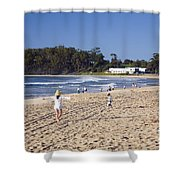 Mollymook Beach On The South Coast Of New South Wales Australia Shower Curtain