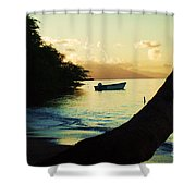 Molokai Beach Shower Curtain