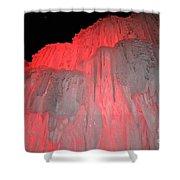 Molten Cherry Shower Curtain