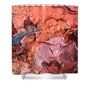 Molten Shower Curtain