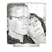 Mom And Dad Shower Curtain