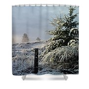 Moment Of Peace Shower Curtain