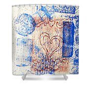 Moment Of Truth Shower Curtain by Yael VanGruber