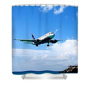 Moments From Touchdown Shower Curtain