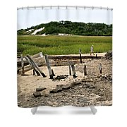 Moments In Time Shower Curtain