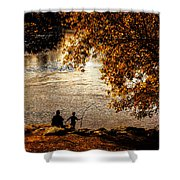 Moments To Remember Shower Curtain