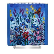 Mom's Flowers Shower Curtain