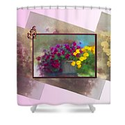 Moms Garden Art Shower Curtain