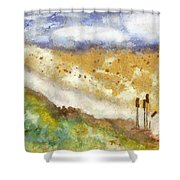 Momzie's Nature -t0202f Shower Curtain