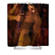 Mon Amour Shower Curtain