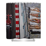 Monaco Glamour Shower Curtain