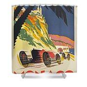 Monaco Grand Prix 1932 Shower Curtain