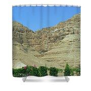 Monastary On The 40-day Mountain Shower Curtain